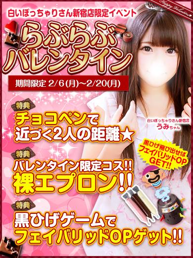 新宿ぽちゃバレンタイン390-520(300-400)