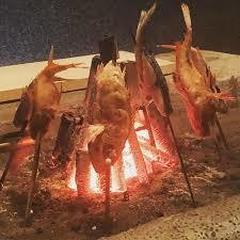 原始焼火鉢(料理)